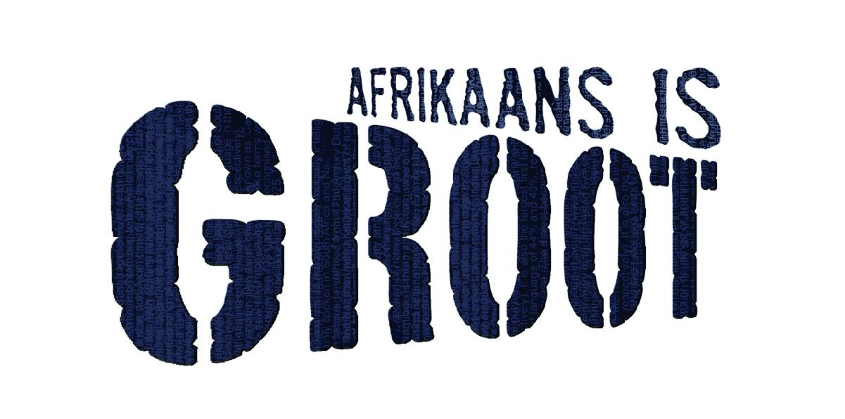 Afrikaans is groot logo