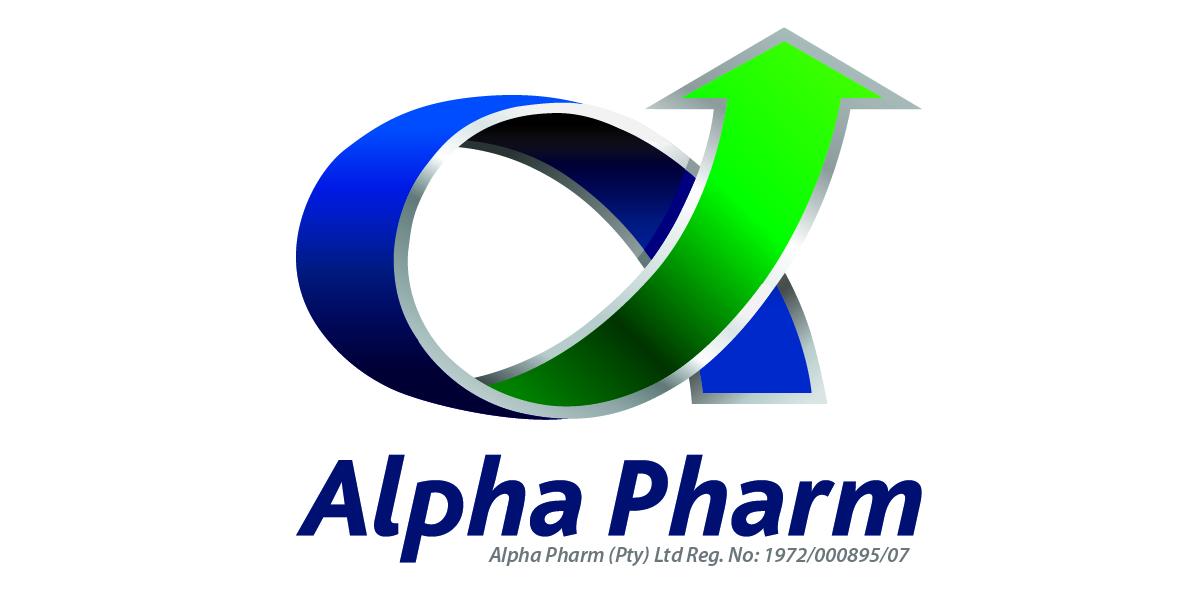 Alpha Pharm logo design